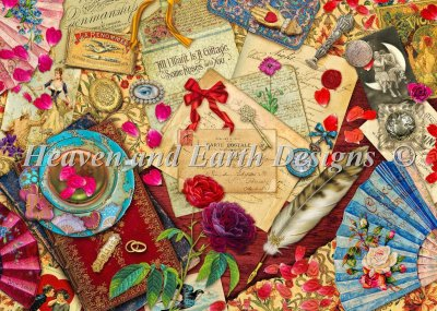 Vintage Love Letters Material Pack