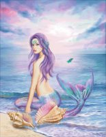 Blue Mermaid Color Expansion