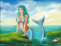 Mermaid On Shore