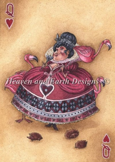 Her Majesty Queen of Hearts