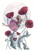 Red Poppy and The Lady Bug