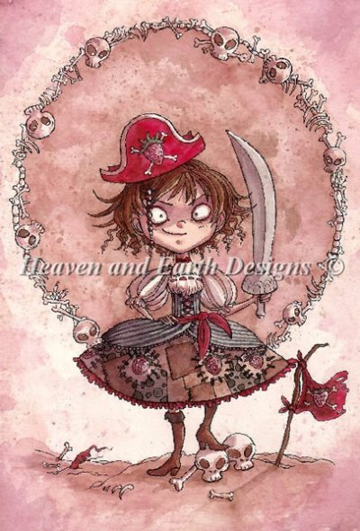 Strawberry Pirate Alicia