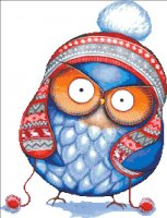 Winter Hat Owl NO BK