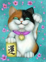 Calico Lucky Cat Material Pack