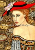 Lady In The Red Hat 2