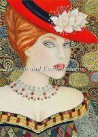 Lady In The Red Hat
