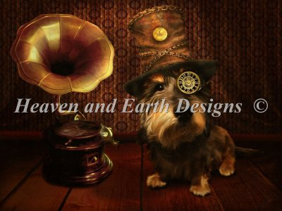 Steampunk Dog Material Pack