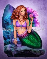 Mermaid Visions Celtic Stone