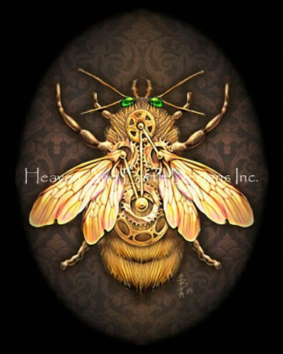 Steam Bee No Background