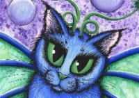 QS Bubble Fairy Cat Face