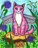 Dea Dragonfly Fairy Cat