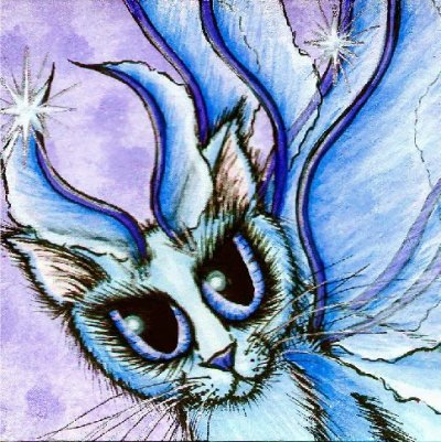 QS Lil Blue Fairy Cat