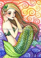 QS Day Dreaming Mermaid NO Background