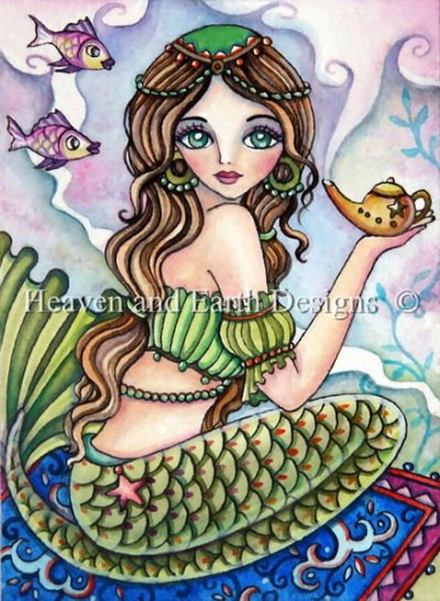 QS Magic Lamp Mermaid