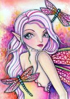 QS Pink Dragonfly
