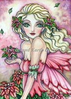 QS Poinsettia Fairy