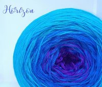 4 ply Handmade Yarn - Sport Weight - Horizon