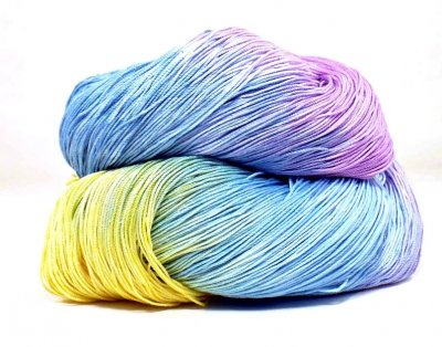 Hand Dyed Yarn - Morning Glory