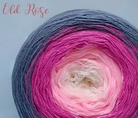 4 ply Handmade Yarn - Sport Weight - Old Rose