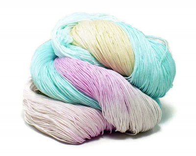 Hand Dyed Yarn - Pastel Christmas