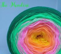 4 ply Handmade Yarn - Sport Weight - The Meadow
