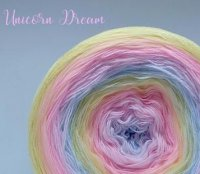 4 ply Handmade Yarn - Sport Weight - Unicorn Dream