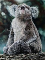 Sad Koala LE Australian Bushfire Project (NO LAY AWAY)