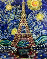Starry Night In Paris
