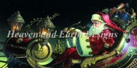 Father Christmas Sleigh Ride NO Background