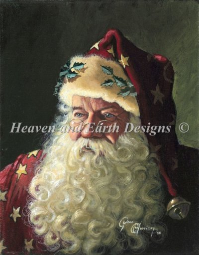 Portrait Of Father Christmas MC Material Pack