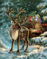 The Enchanted Christmas Reindeer Material Pack