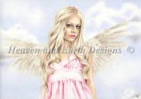 Diamond Painting Canvas - Angel in Pink