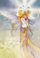 Diamond Painting Canvas - Angel of Dawn