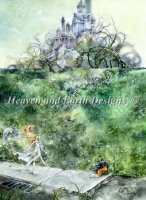 Diamond Painting Canvas - Beyond The Hedge