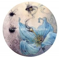 Diamond Painting Canvas - Blue Poppy
