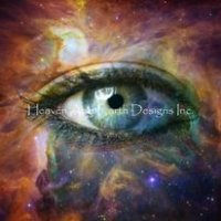 Diamond Painting Canvas - Human Eye Looking In Universe