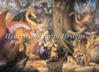 Diamond Painting Canvas - Mini A Confabulation of Dragons