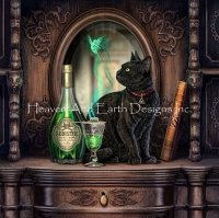 Diamond Painting Canvas - Mini Absinthe LP