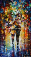 Diamond Painting Canvas - Mini Bonded By The Rain