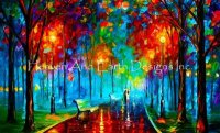 Diamond Painting Canvas - Mini Evening