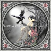 Diamond Painting Canvas - Mini Gothic Girl