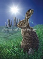 Diamond Painting Canvas - Mini Moon Hare