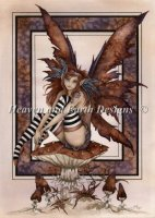 Diamond Painting Canvas - Mini Naughty Faery