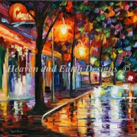 Diamond Painting Canvas - Mini Night Cafe