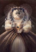 Diamond Painting Canvas - Mini Queen Elhissabeth