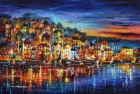 Diamond Painting Canvas - Mini Quiet Town