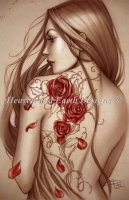 Diamond Painting Canvas - Mini Rose Tattoo