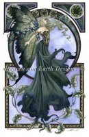 Diamond Painting Canvas - Mini The Green Faery AB