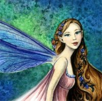 Diamond Painting Canvas - QS Dragonfly Fae