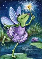 Diamond Painting Canvas - QS Fairy Frog Mother